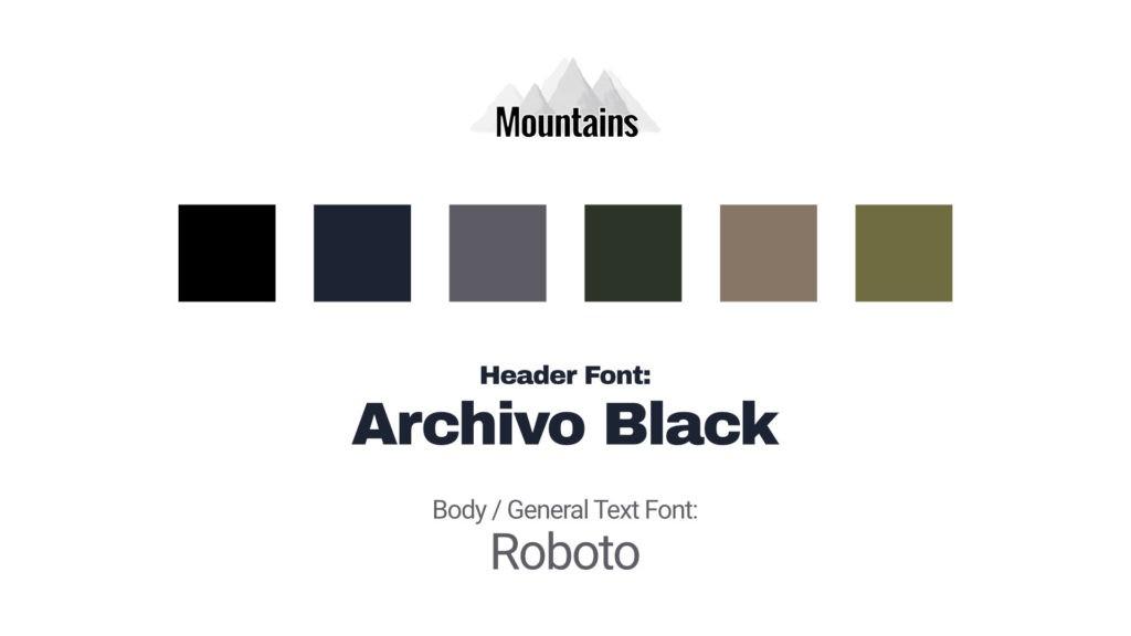 Brand Identity Design Sample