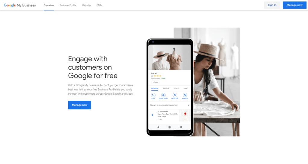 Google My Business - Engage with customers on Google for free