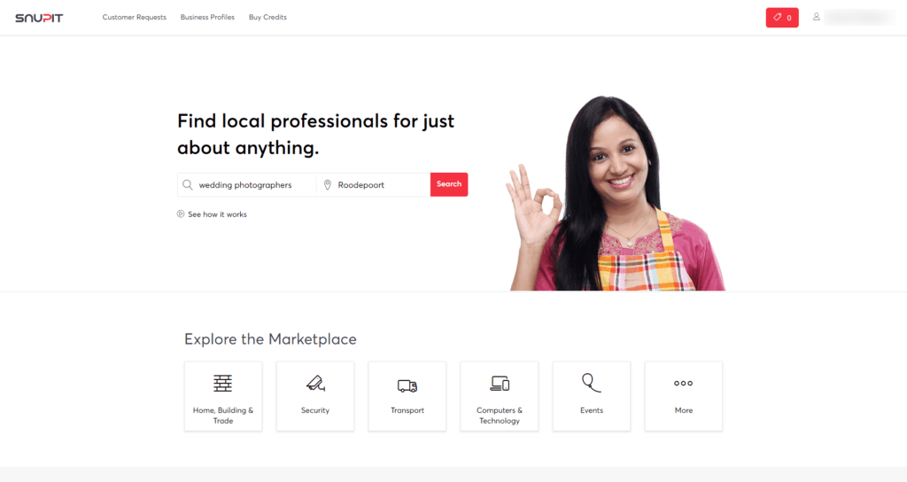 Snupit - Get local lead opportunities in your inbox